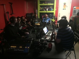 Full Crew and guests