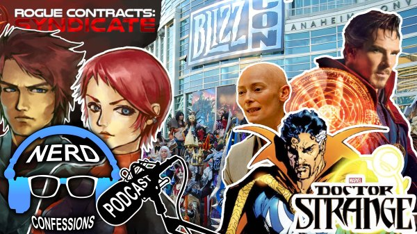 Our friend Pedram joins us this week to give us the rundown on Blizzcon 2016. We then cast our opinions on Marvel's latest origin story, Doctor Strange. Finally, we explain our review on the indie game developed by Go Dark Studios, Rogue Contracts: Syndicate.