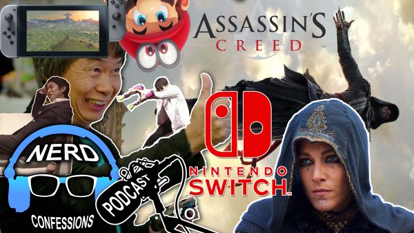 S02E01: Nintendo Switch Conference, Assassin's Creed Movie