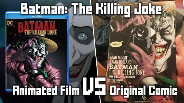 Batman: The Killing Joke - Animated Film vs. Original Comic
