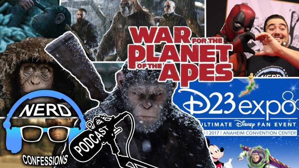 S02E26: War for the Planet of the Apes, D23 Expo 2017