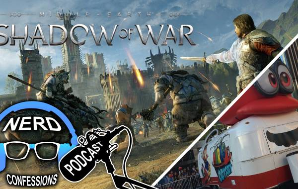 S02E39: Middle Earth Shadow of War, Mario Odyssey Event at City Walk