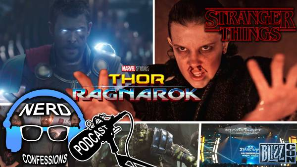 S02E42: Thor Ragnarok, Stranger Things 2, Blizzcon 2017!