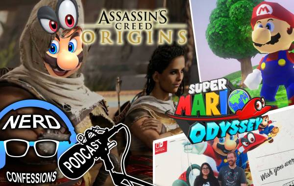 S02E43: Super Mario Odyssey, Assassin's Creed Origins