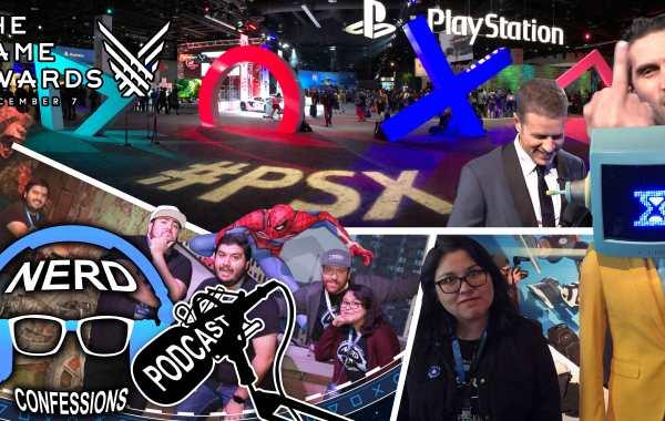 S02E46: PSX 2017, The Game Awards